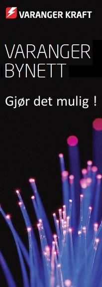 Varanger Bynett er navnet på det fiberoptiske nettet som knytter sammen private husstander, bedrifter og offentlige institusjoneri Øst-Finnmark. Her får du tilgang til et mangfold av tjenester, og valgfrihet med flere leverandører.